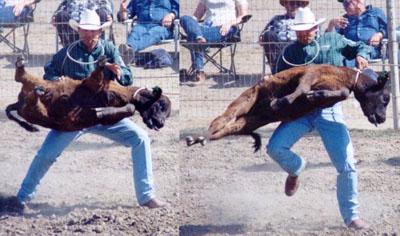 The Tight Tan Slacks Of Dezso Ban Calf Training Reg